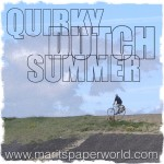 quirky dutch summer, badge,