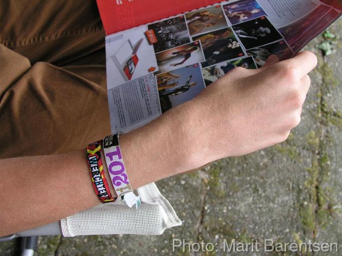 rock werchter armbandjes