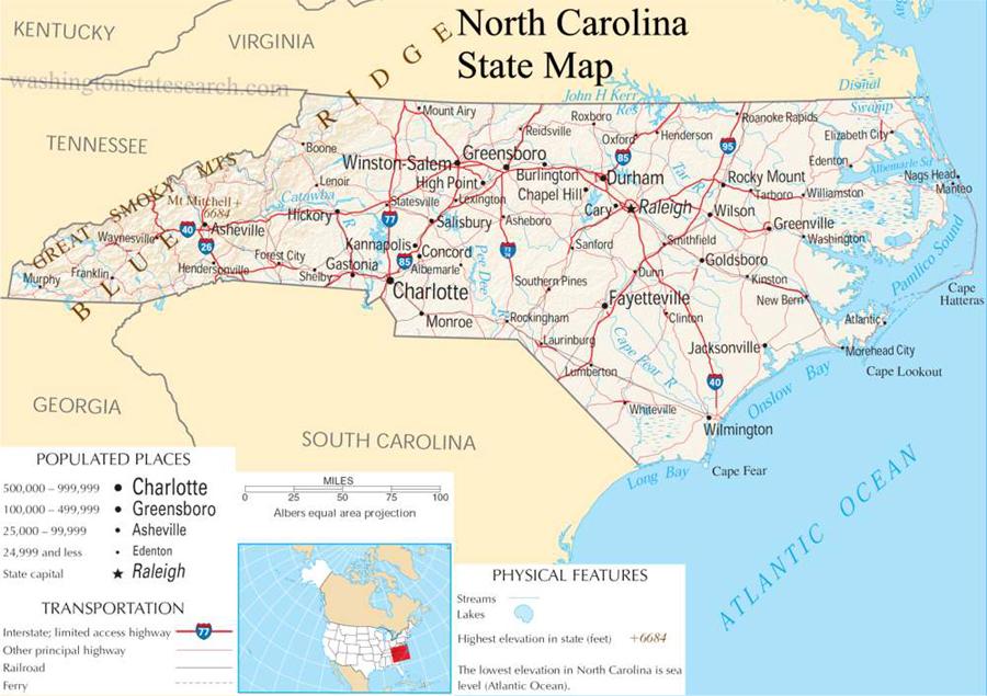 The BIG Road Trip  North Carolina NC