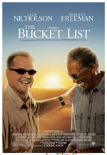 The Bucket List movie poster onesheet