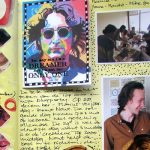 Loose ends: art journal spreads from 2016